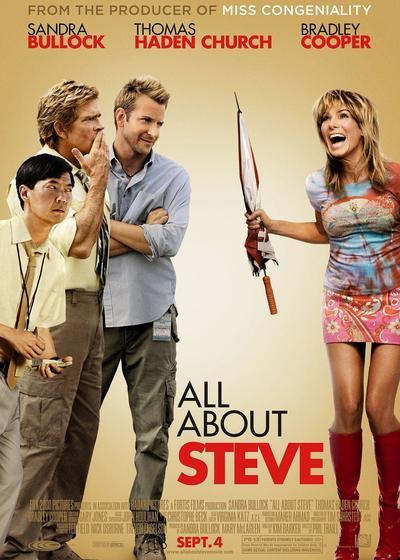关于史蒂夫的一切海报