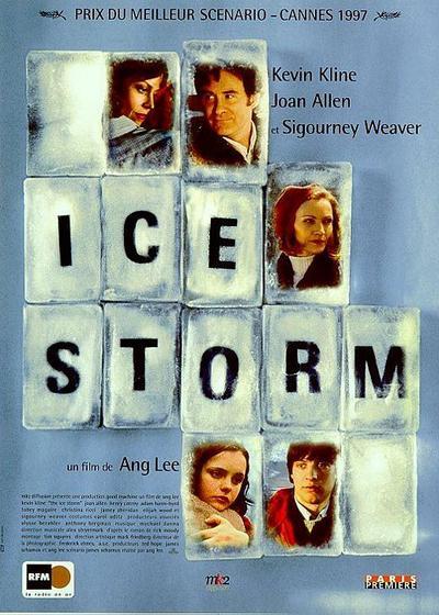 冰风暴海报