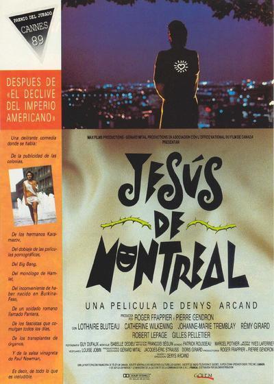蒙特利尔的耶稣海报