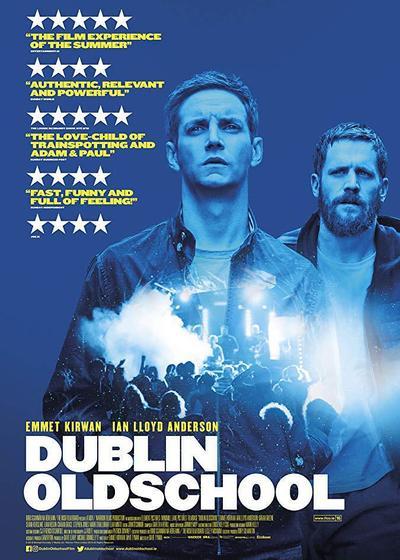 爱尔兰都柏林街道上的单身男子俱乐部海报