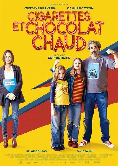 香烟和热巧克力海报