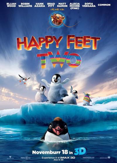 快乐的大脚2海报