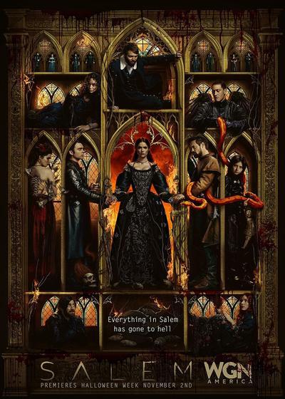 塞勒姆 第三季海报