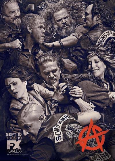 混乱之子 第六季海报