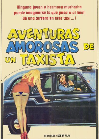 出租车司机冒险记海报
