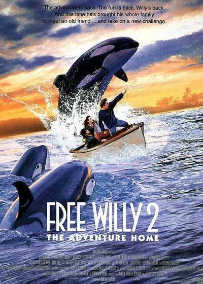 威鲸闯天关2海报
