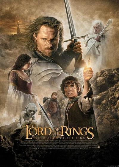 指环王3:王者无敌海报