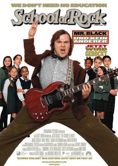 摇滚校园海报