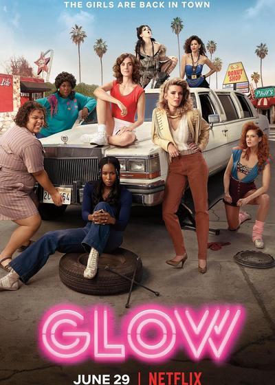 美女摔角联盟 第二季海报