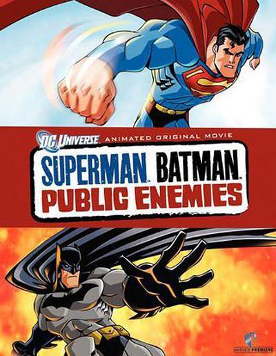 超人与蝙蝠侠:公众之敌海报