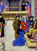 手工绘本插画:中世纪君王们的私人生活