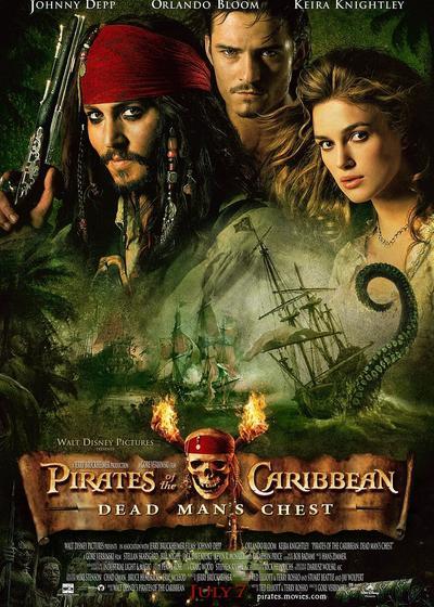 加勒比海盗2:聚魂棺海报