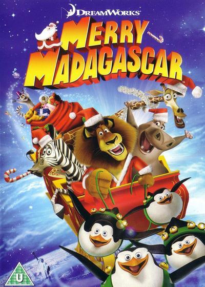 马达加斯加的圣诞海报