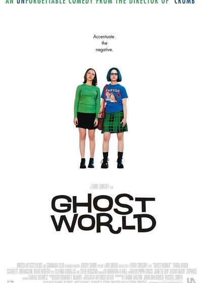 幽灵世界海报