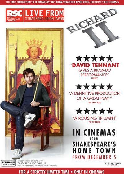 理查二世:皇家莎士比亚剧团海报