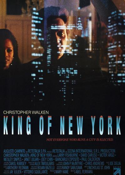 纽约王海报