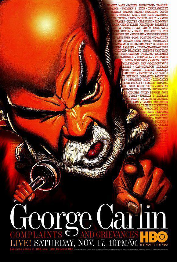 乔治·卡林:抱怨与牢骚