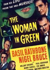 绿衣女子海报