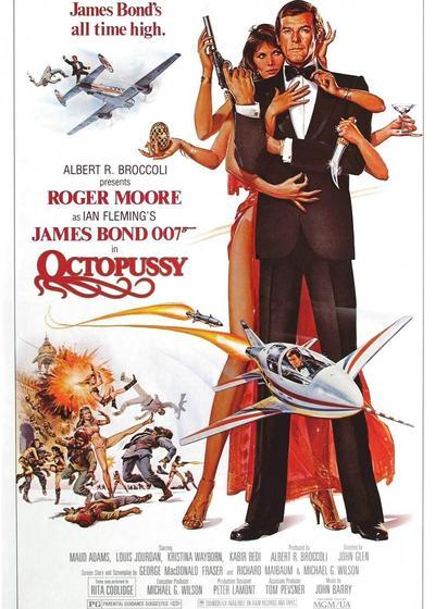 007之八爪女海报