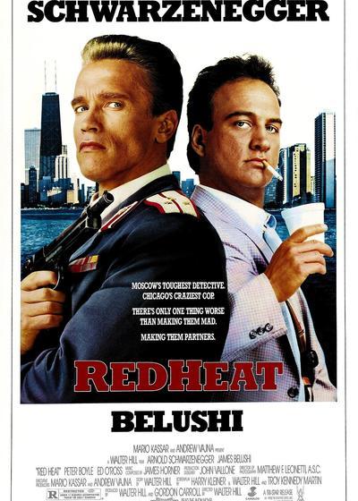红色警探海报