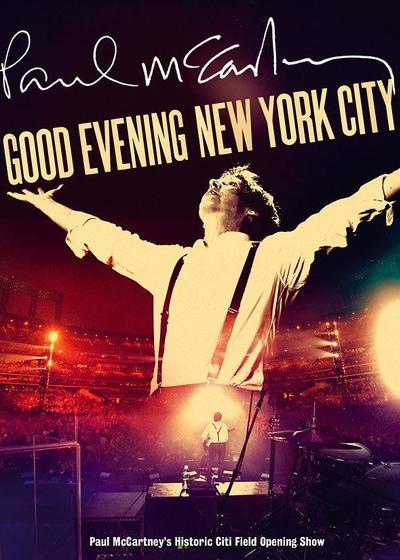 Paul McCartney: Good Evening New York City海报