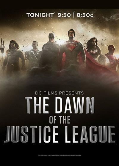 DC电影出品:正义联盟黎明海报