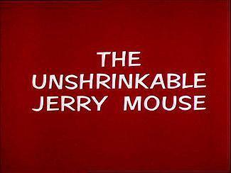 不收缩的老鼠杰瑞海报