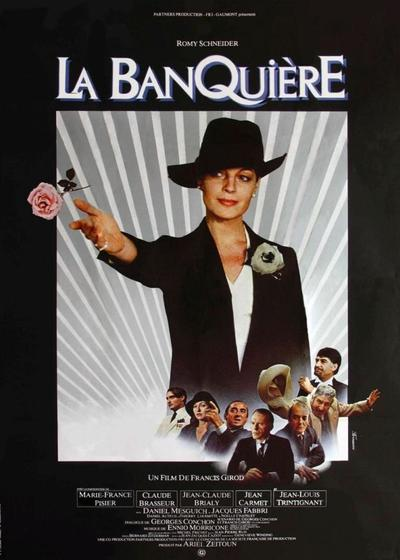 女银行家海报