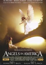 天使在美国海报