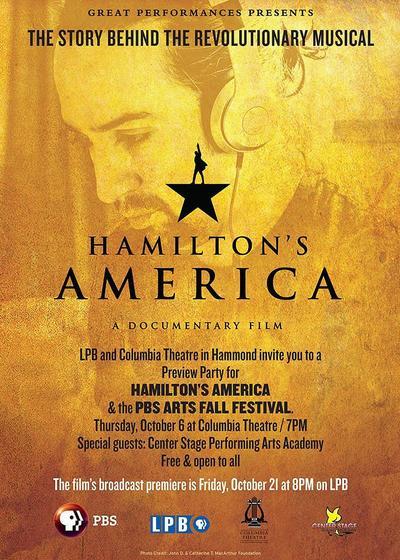 汉密尔顿的美国海报