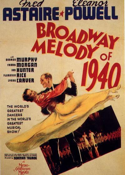 百老汇旋律1940'海报