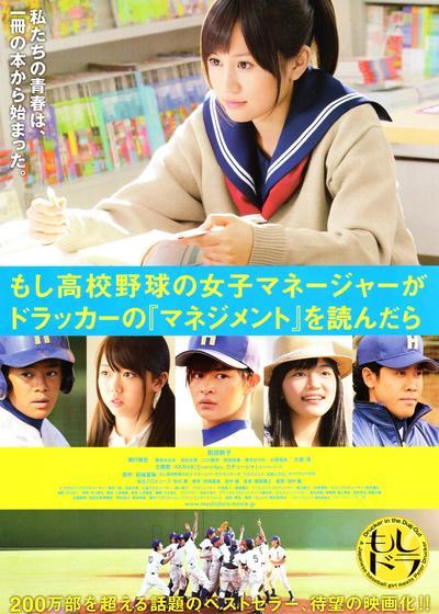 如果高中棒球队女经理读了杜拉克的《管理学》海报