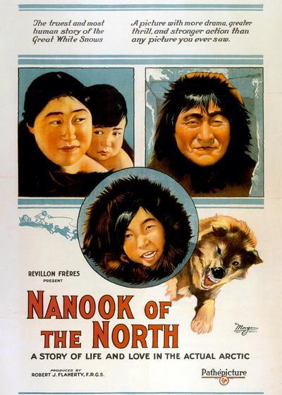 北方的纳努克海报