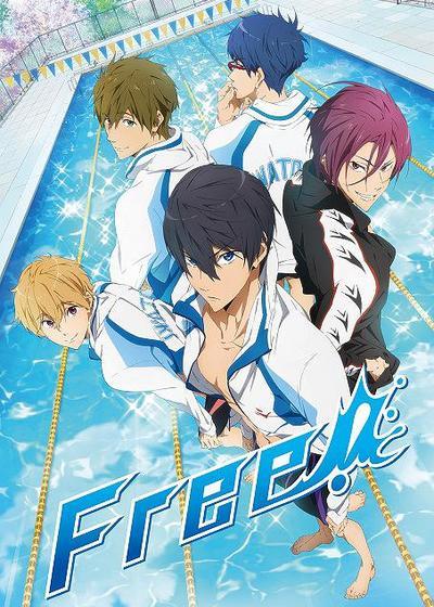 男子游泳部 第一季海报