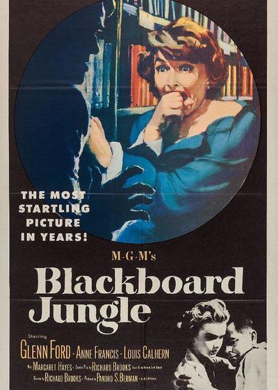 黑板丛林海报