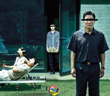 《寄生虫》海报为什么都是遮住双眼的?