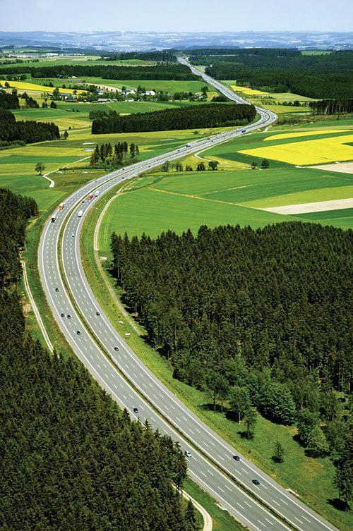 伟大工程巡礼:德国高速公路