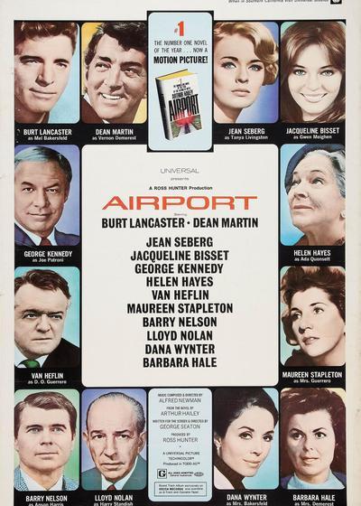 国际机场海报
