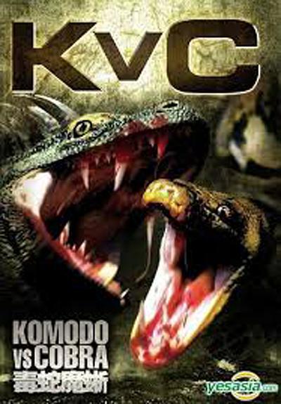 科莫多龙vs金刚巨蟒