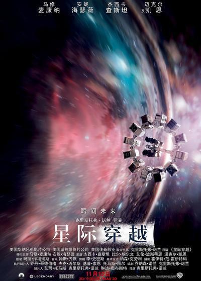 星际穿越海报
