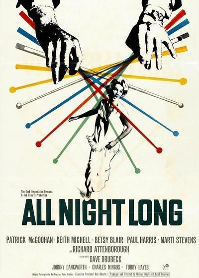 一整夜海报