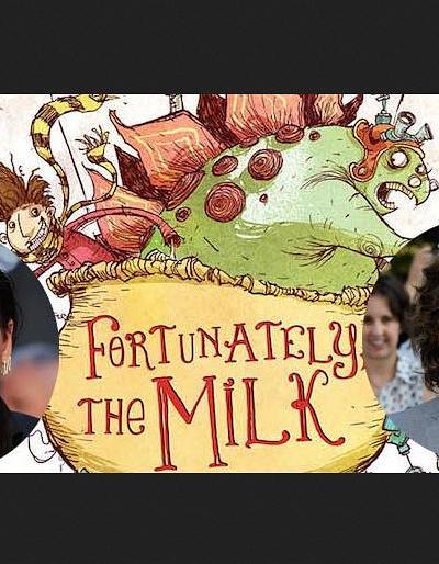 幸好有牛奶海报