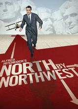 西北偏北海报
