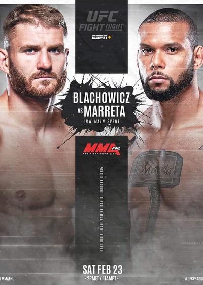 UFC格斗之夜145:波兰简VS大锤桑托斯 第一季海报