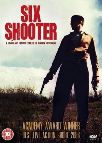 六发子弹的手枪海报