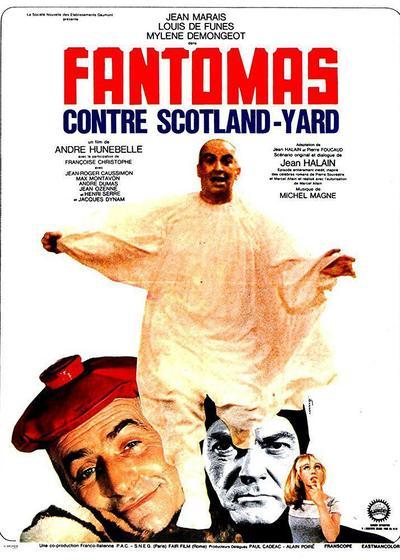 方托马斯大战苏格兰场海报
