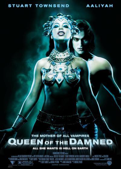 吸血鬼女王海报