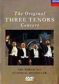 世界三大男高音:1990年罗马世纪音乐会海报