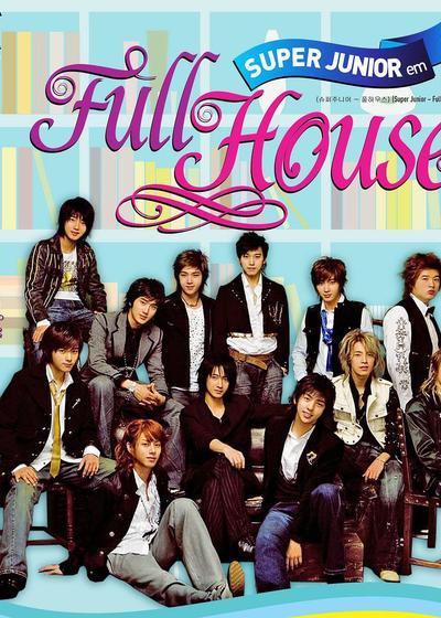 Super Junior Full House海报