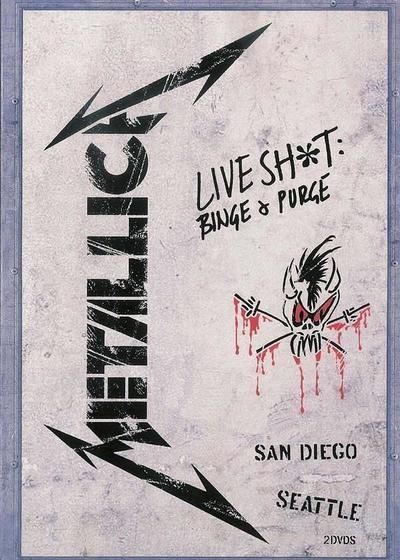金属乐队.1992年圣地亚哥演唱会海报